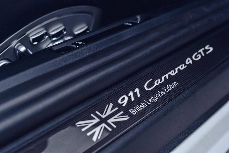 Porsche 911 Carrera 4 GTS British Legends Edition v barvách slavných vítězů z Le Mans: - fotka 5