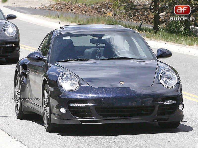 Spy Photos: Porsche 911 Turbo: - fotka 1