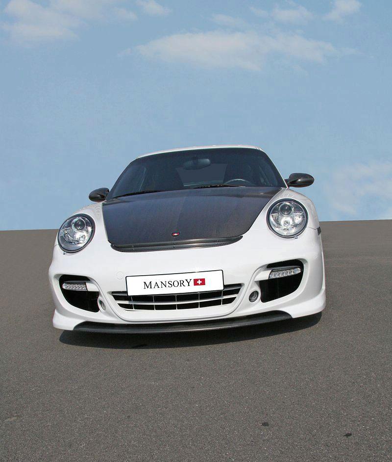Porsche 911 Turbo: kosmetické změny od Mansory: - fotka 3