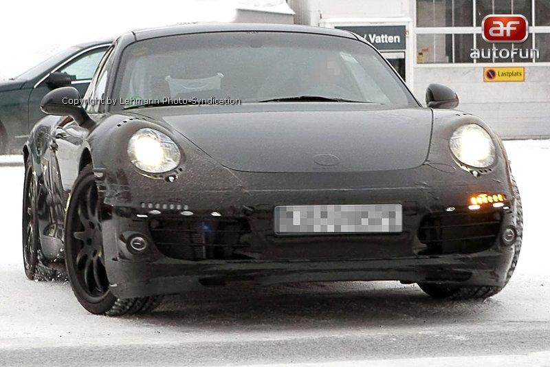 Spy Photos: Porsche 911 Carrera: - fotka 1