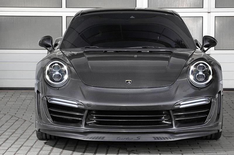 Porsche 911 Turbo v karbonovém kabátku od TopCar: - fotka 1