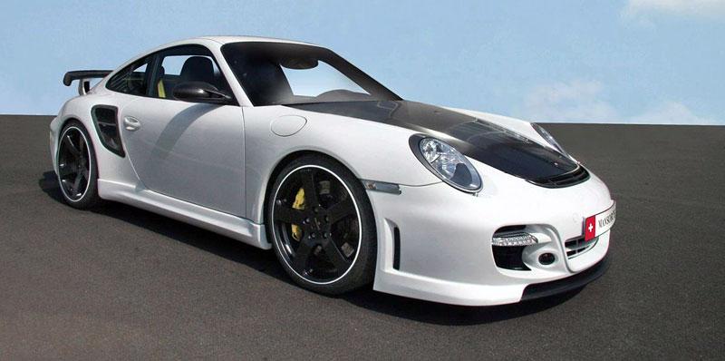 Porsche 911 Turbo: kosmetické změny od Mansory: - fotka 4