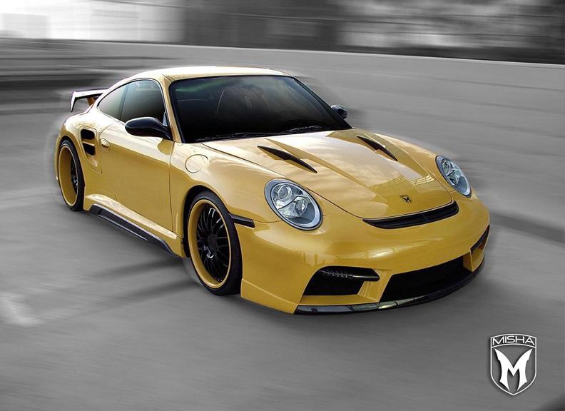 Porsche 911 Turbo: GTM aero kit od Misha Design: - fotka 1