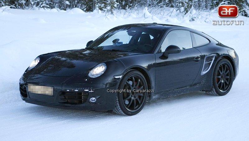 Spy Photos: nová generace Porsche 911: - fotka 1