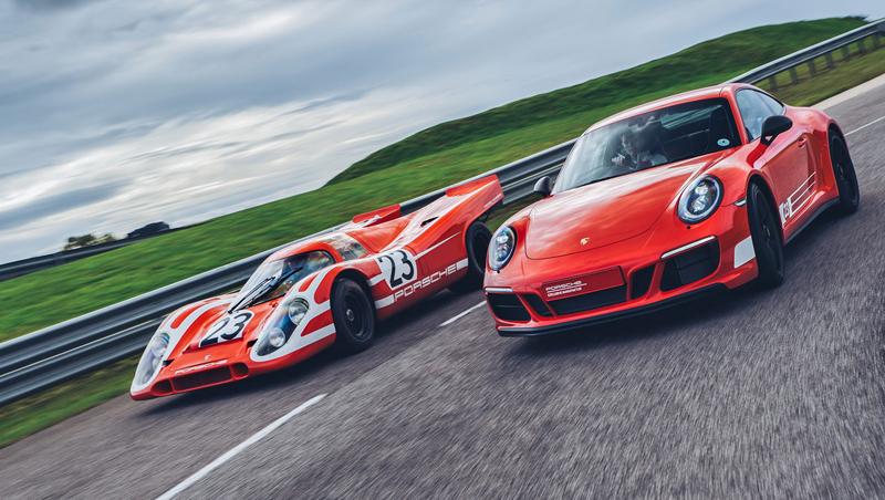 Porsche 911 Carrera 4 GTS British Legends Edition v barvách slavných vítězů z Le Mans: - fotka 8