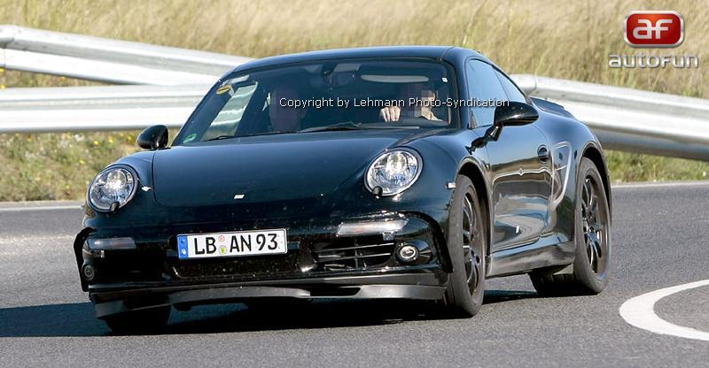 Spy Photos: Porsche 911 - že by generace 998?: - fotka 2