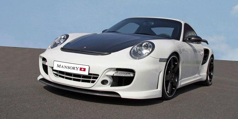 Porsche 911 Turbo: kosmetické změny od Mansory: - fotka 5