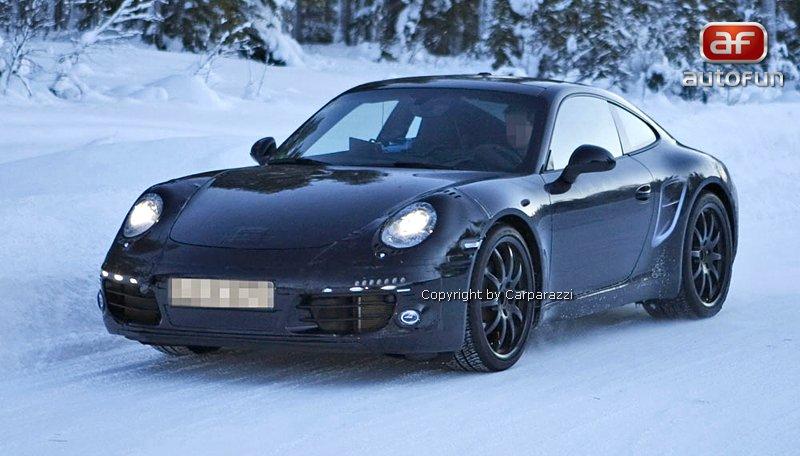 Spy Photos: nová generace Porsche 911: - fotka 2