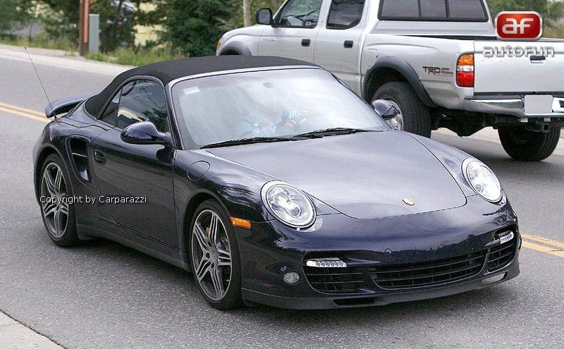 Spy Photos: Porsche 911 Turbo: - fotka 5