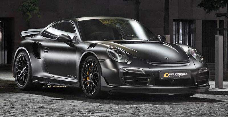Porsche 911 Turbo S jako Dark Knight z Polska: - fotka 4