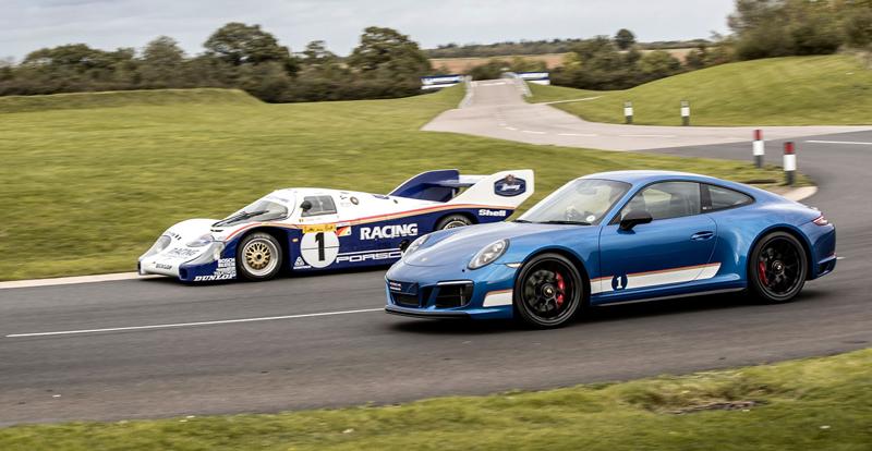 Porsche 911 Carrera 4 GTS British Legends Edition v barvách slavných vítězů z Le Mans: - fotka 10
