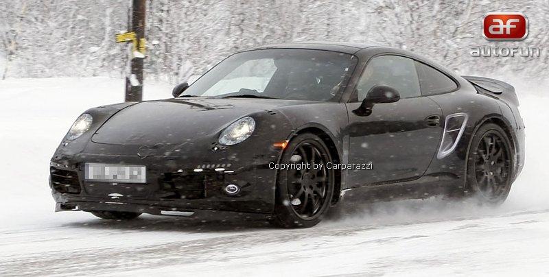 Spy Photos: Porsche 911 Carrera: - fotka 3