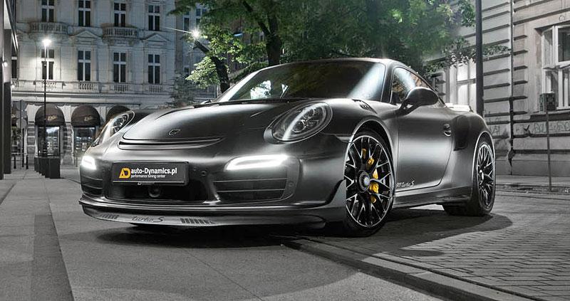 Porsche 911 Turbo S jako Dark Knight z Polska: - fotka 6