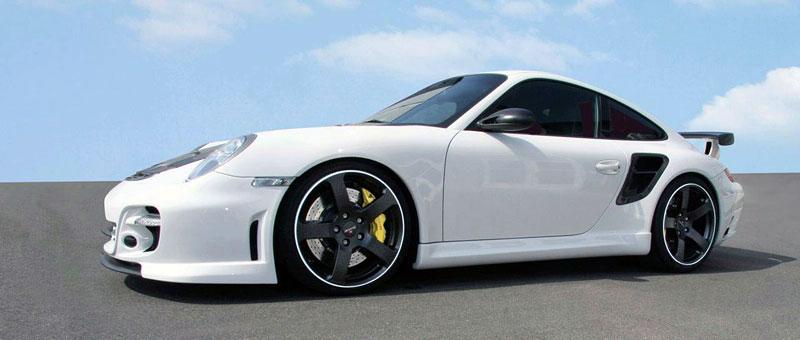 Porsche 911 Turbo: kosmetické změny od Mansory: - fotka 6