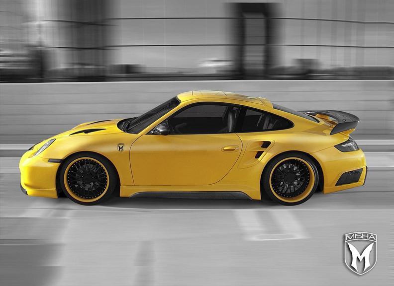 Porsche 911 Turbo: GTM aero kit od Misha Design: - fotka 2