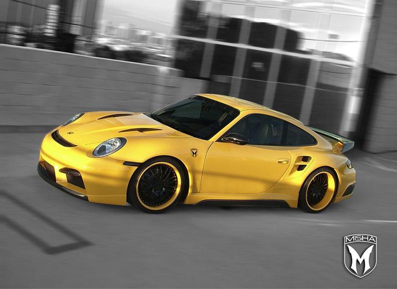 Porsche 911 Turbo: GTM aero kit od Misha Design: - fotka 3