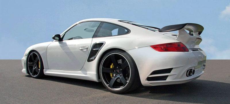 Porsche 911 Turbo: kosmetické změny od Mansory: - fotka 7
