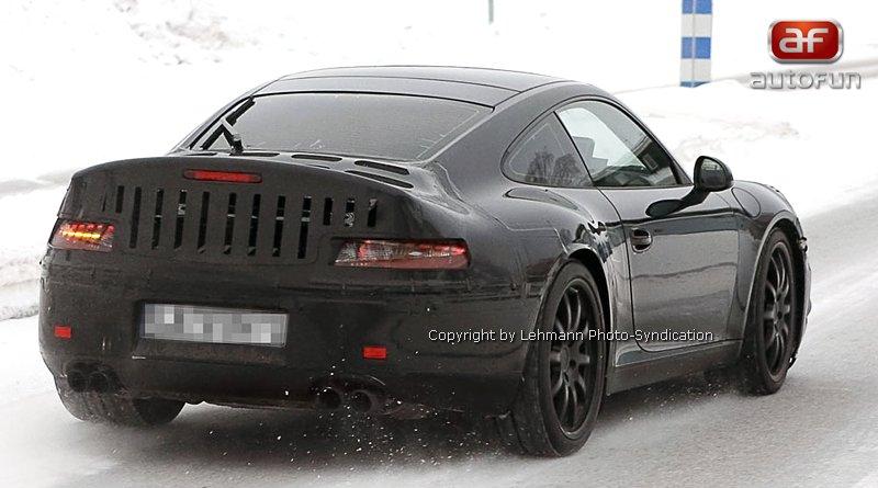 Spy Photos: Porsche 911 Carrera: - fotka 7