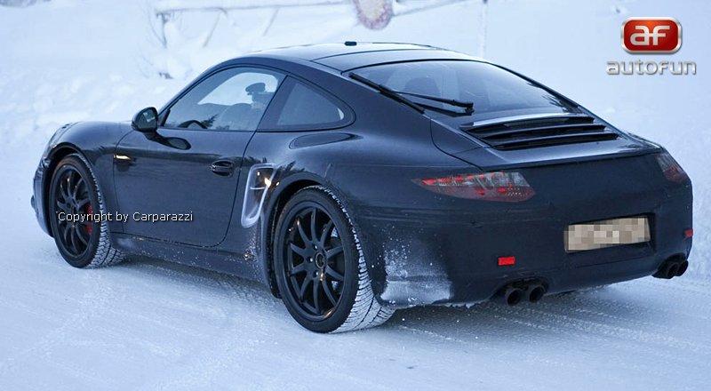 Spy Photos: nová generace Porsche 911: - fotka 4