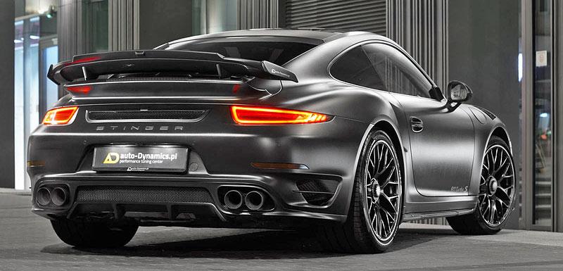 Porsche 911 Turbo S jako Dark Knight z Polska: - fotka 8
