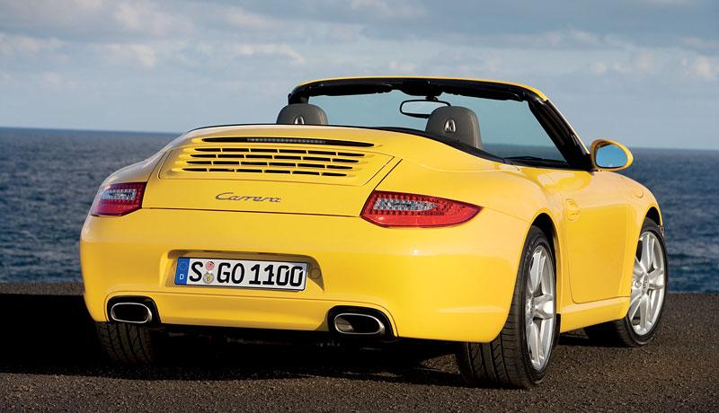 Porsche 911 facelift - první oficiální fotografie: - fotka 6