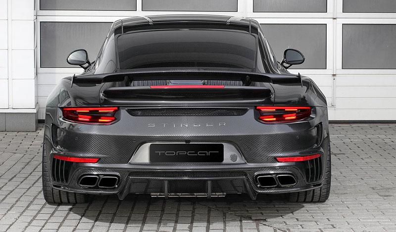 Porsche 911 Turbo v karbonovém kabátku od TopCar: - fotka 8