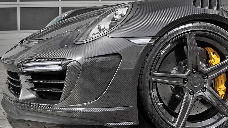 Porsche 911 Turbo v karbonovém kabátku od TopCar: - fotka 9