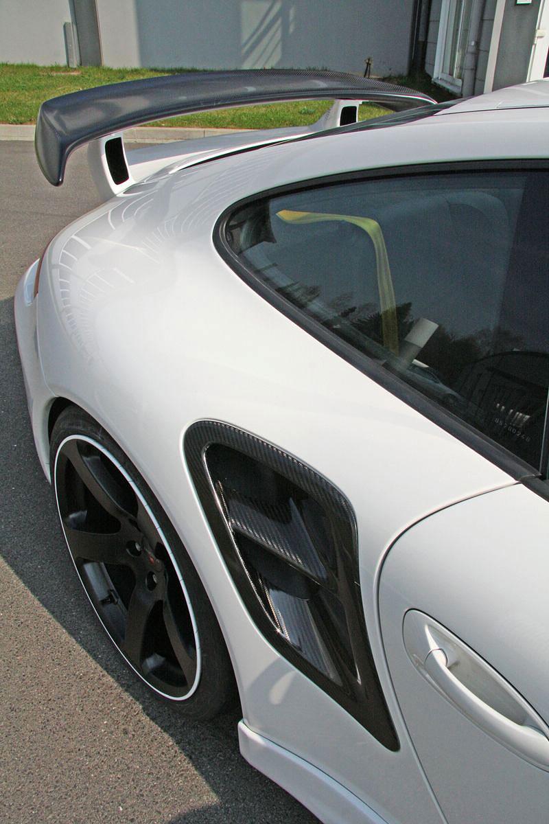 Porsche 911 Turbo: kosmetické změny od Mansory: - fotka 9