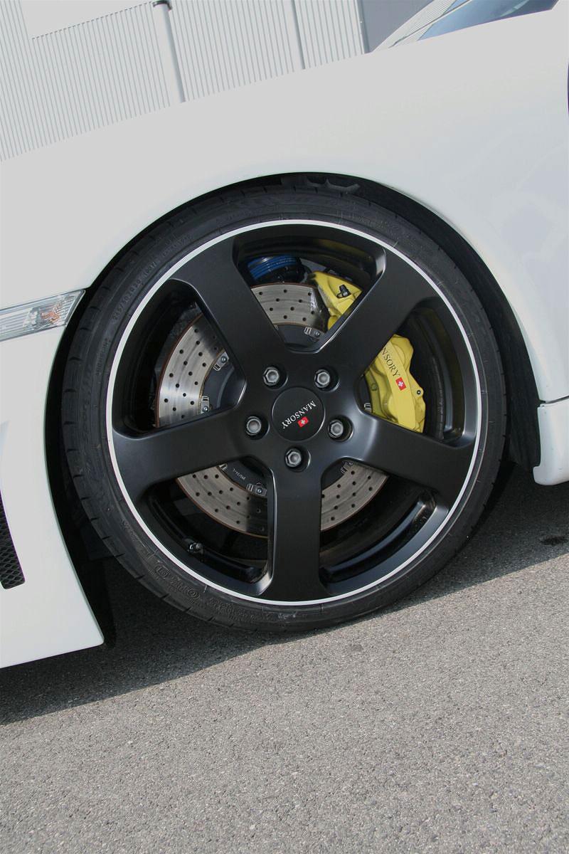 Porsche 911 Turbo: kosmetické změny od Mansory: - fotka 10