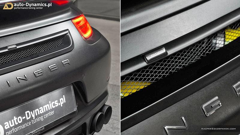 Porsche 911 Turbo S jako Dark Knight z Polska: - fotka 11