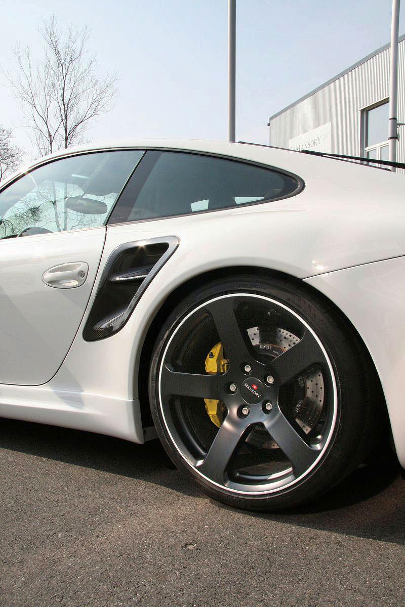 Porsche 911 Turbo: kosmetické změny od Mansory: - fotka 11