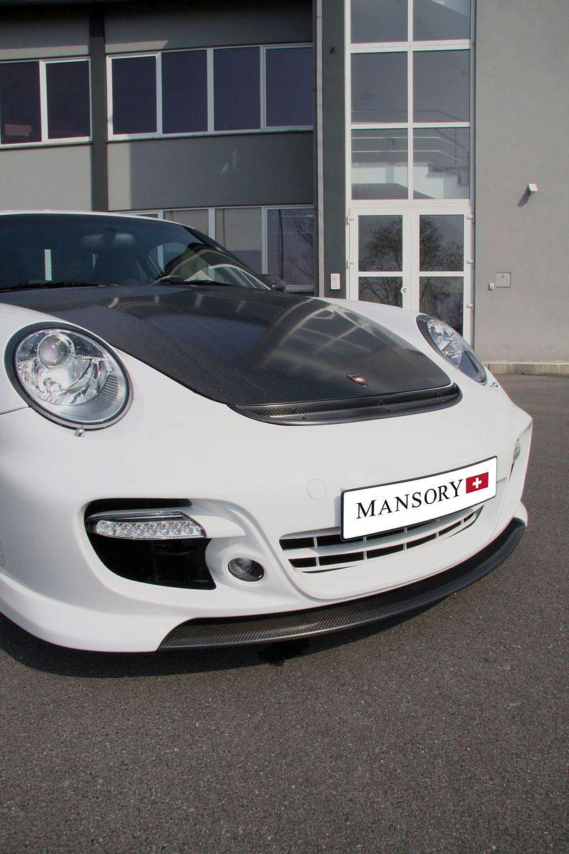 Porsche 911 Turbo: kosmetické změny od Mansory: - fotka 12