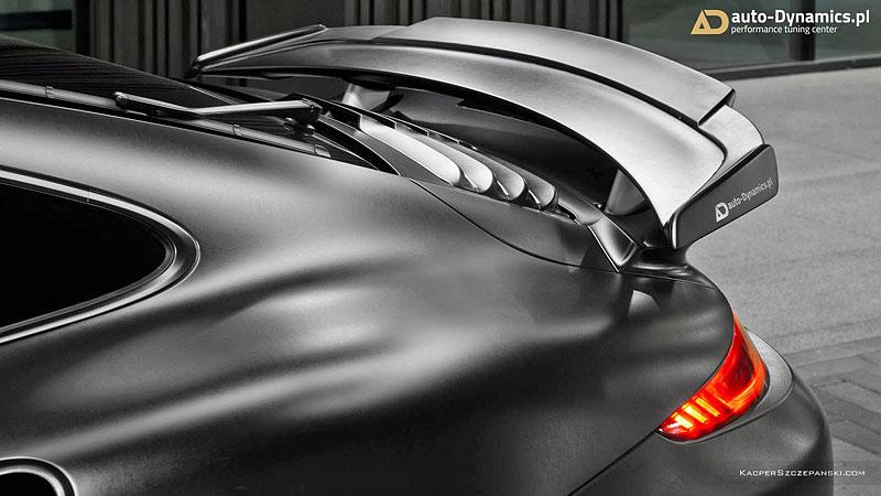 Porsche 911 Turbo S jako Dark Knight z Polska: - fotka 13