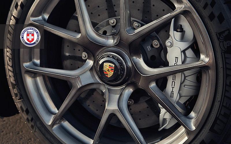Rudé Porsche 918 na kolech HRE: Kalifornský pozdrav do Maranella: - fotka 11