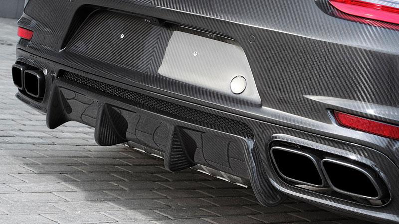 Porsche 911 Turbo v karbonovém kabátku od TopCar: - fotka 19