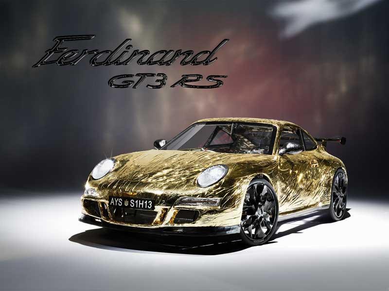 Ferdinand GT3 RS: ultrasuperlehký rakouský speciál (+ video z okruhu): - fotka 3