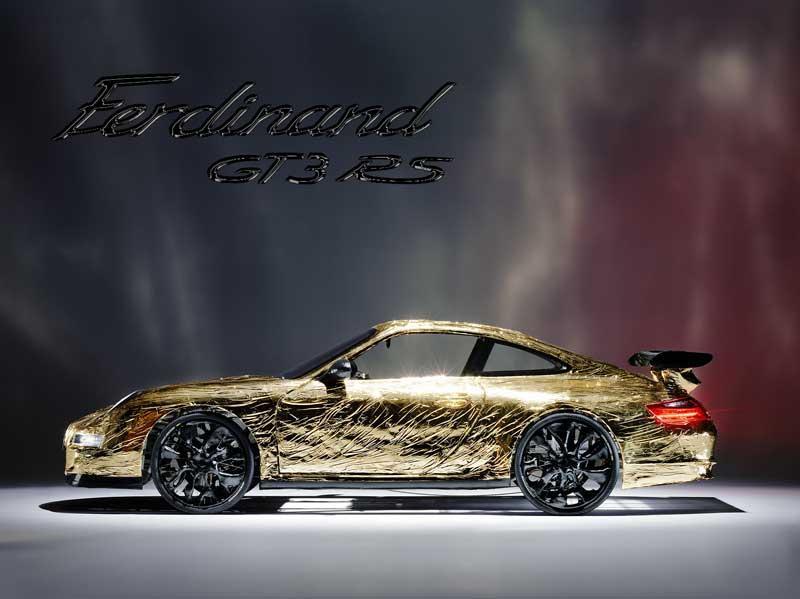 Ferdinand GT3 RS: ultrasuperlehký rakouský speciál (+ video z okruhu): - fotka 4