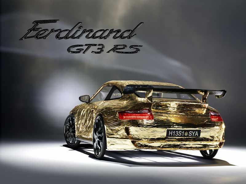 Ferdinand GT3 RS: ultrasuperlehký rakouský speciál (+ video z okruhu): - fotka 5