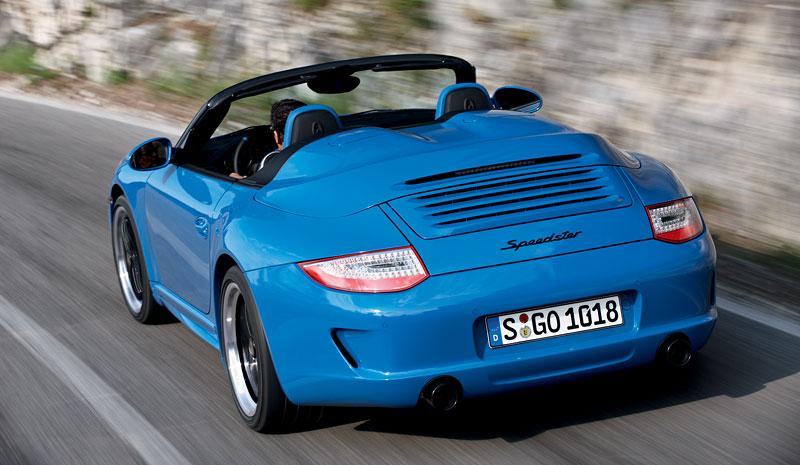 Porsche 911 Speedster: Návrat slavného jména v limitované sérii: - fotka 6