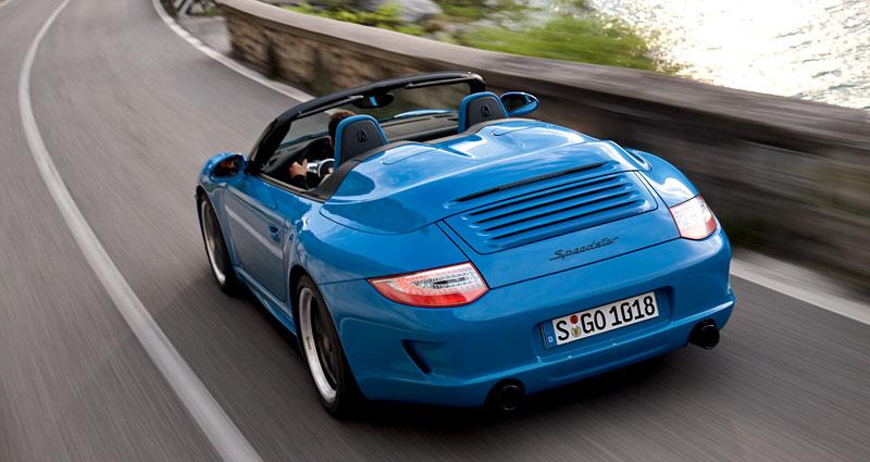 Porsche 911 Speedster: Návrat slavného jména v limitované sérii: - fotka 7