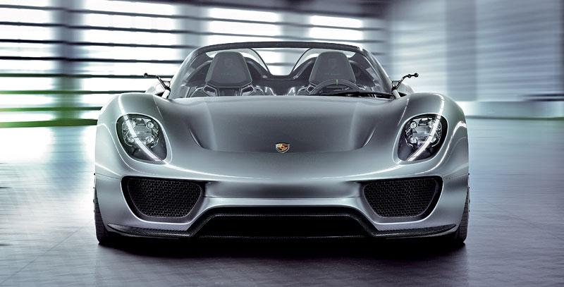 Porsche 918 v Detroitu jako závodní Coupe: - fotka 19