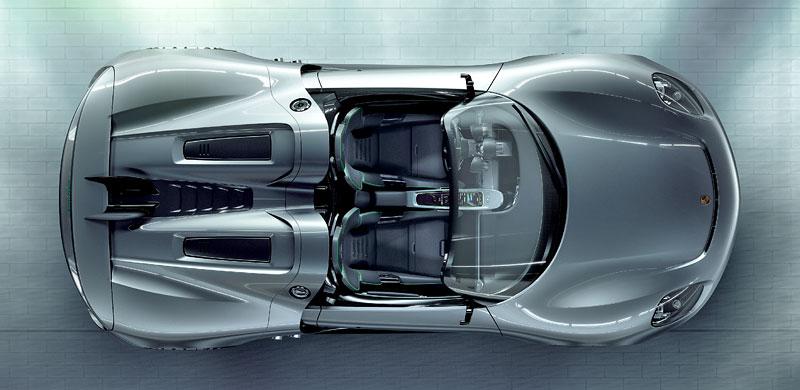 Porsche 918 v Detroitu jako závodní Coupe: - fotka 23