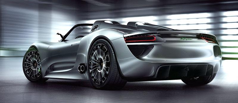 Porsche 918 Spyder: cena stanovena na půl milionu euro: - fotka 23