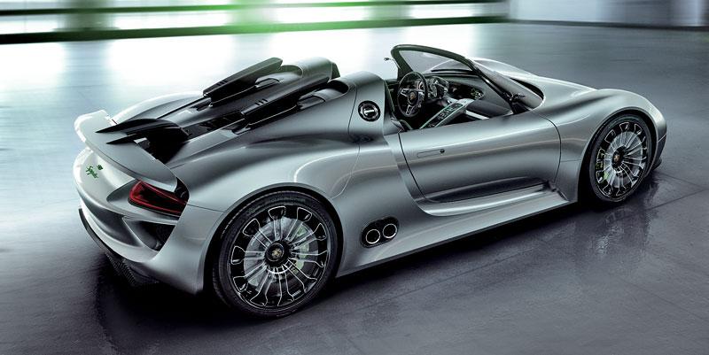 Porsche 918 Spyder: cena stanovena na půl milionu euro: - fotka 24