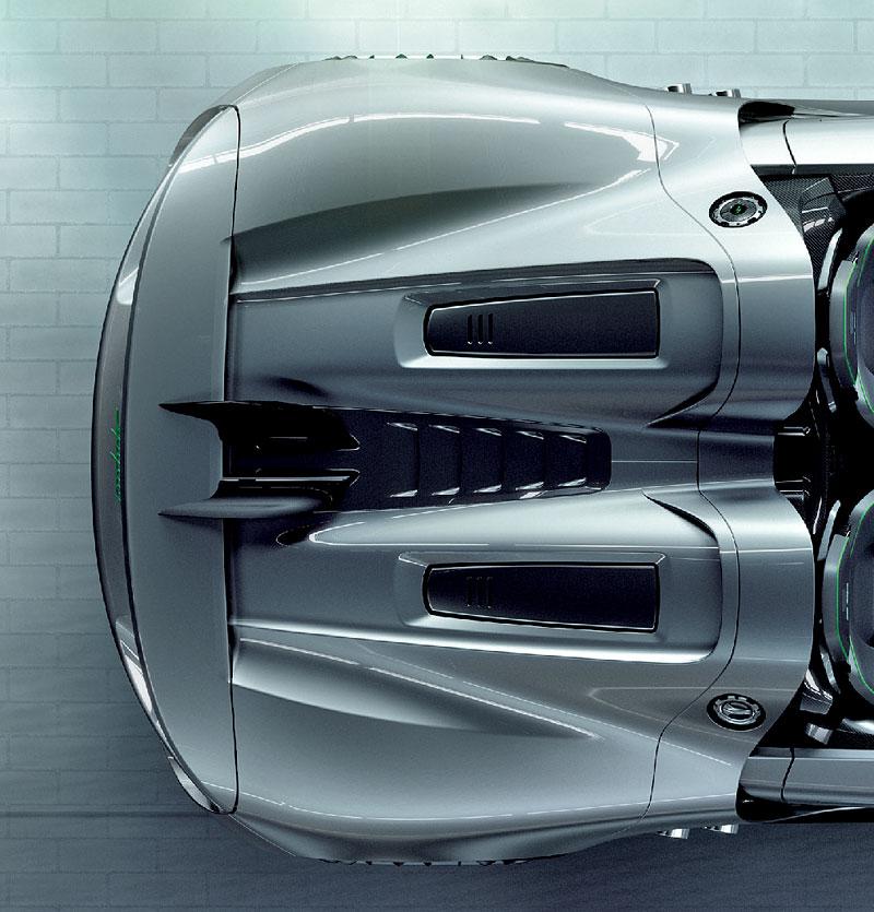 Porsche 918 v Detroitu jako závodní Coupe: - fotka 33