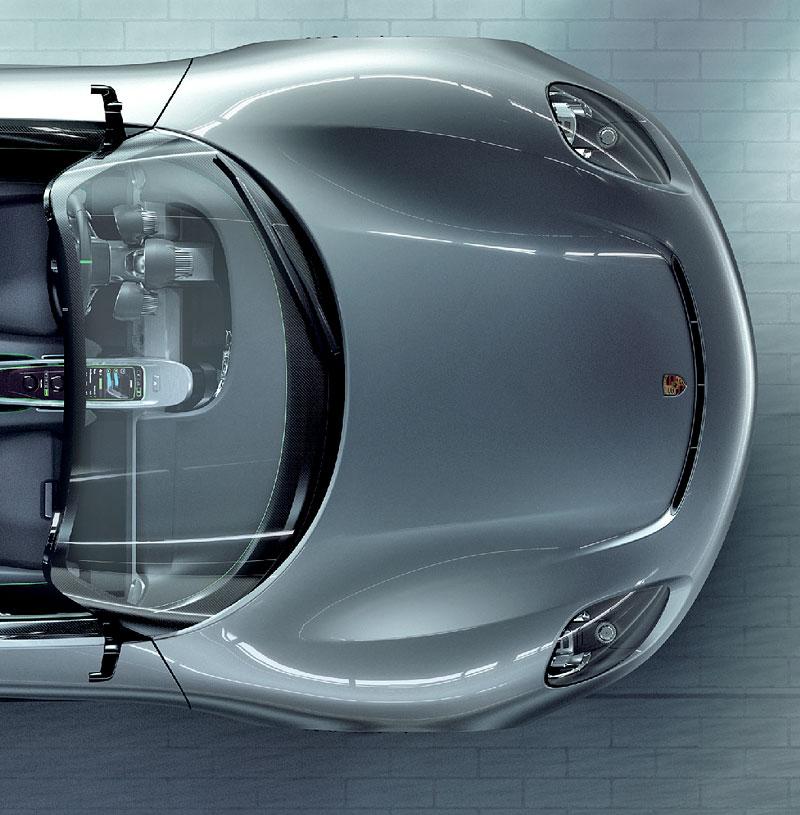 Porsche 918 v Detroitu jako závodní Coupe: - fotka 34