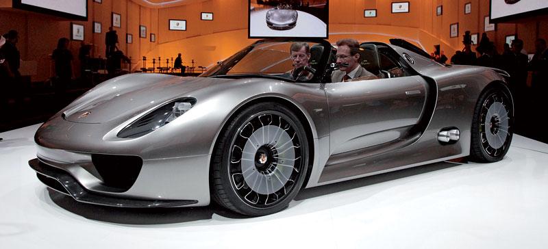 Porsche 918 Spyder: cena stanovena na půl milionu euro: - fotka 38