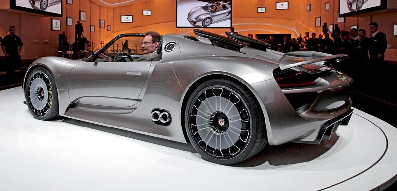 Porsche 918 Spyder: cena stanovena na půl milionu euro: - fotka 39