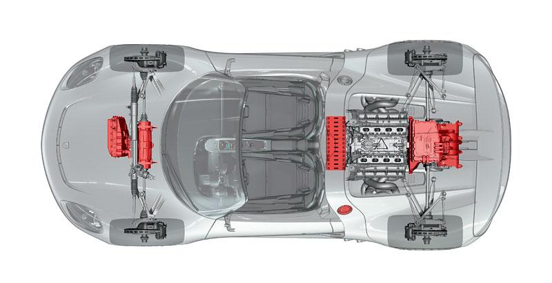 Porsche 918 v Detroitu jako závodní Coupe: - fotka 41