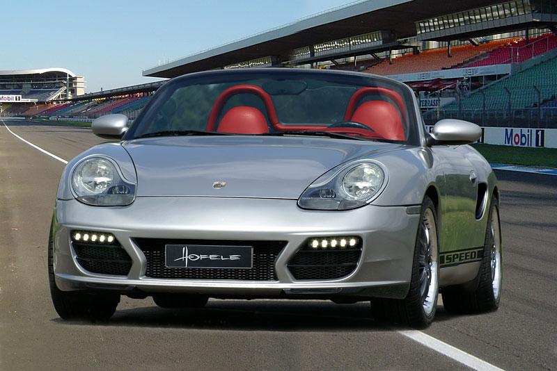 Hofele Speed GT: individualizace pro původní Porsche Boxster: - fotka 1